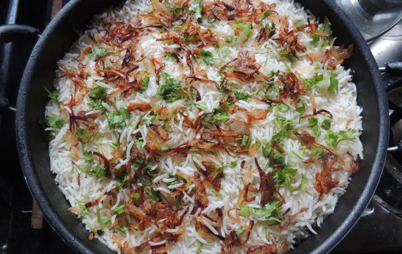 Briyani - indian food tour
