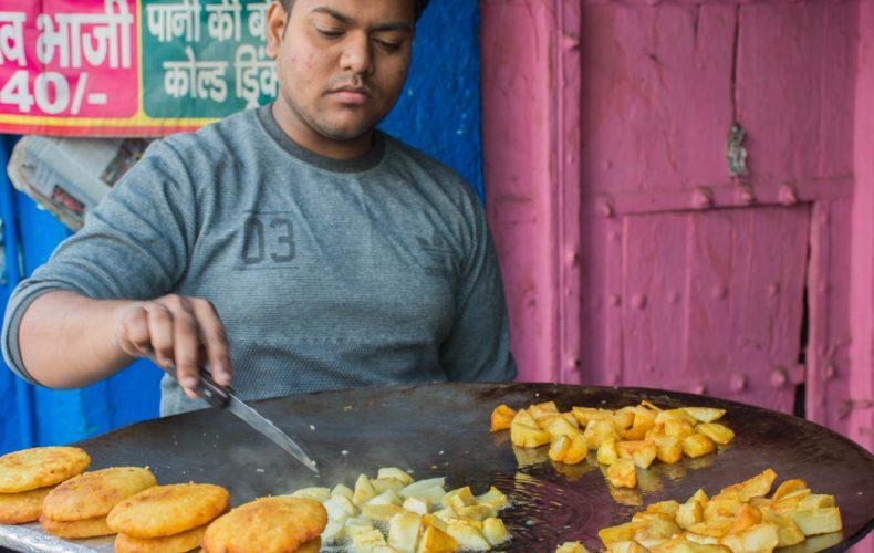 Yummy potatoes - india food walks